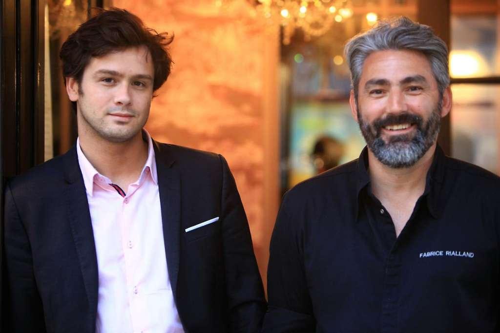 Benoist Kersulec et Fabrice Rialland