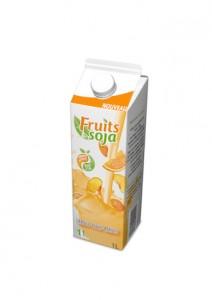 FRUITS & SOJA - Orange Pêche Abricot - 3D